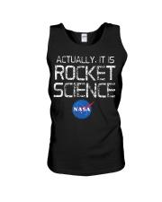 NASA - Actually It Is Rocket Science  Unisex Tank thumbnail