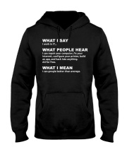 I work in IT - Funny Computer Sh Hooded Sweatshirt thumbnail