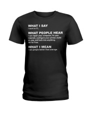 I work in IT - Funny Computer Sh Ladies T-Shirt thumbnail