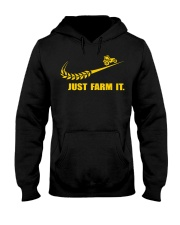 Funny Just Farm It Tractor Farmers Do  Hooded Sweatshirt thumbnail