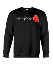 Cardiac Nurse Heartbeat Cardiology CNS Nursin Crewneck Sweatshirt thumbnail