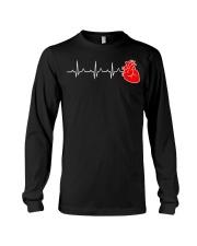 Cardiac Nurse Heartbeat Cardiology CNS Nursin Long Sleeve Tee thumbnail