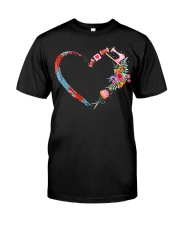 Quilting t-shirt sewing my heart love Classic T-Shirt front