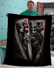 """skull Sherpa Fleece Blanket - 50"""" x 60"""" aos-sherpa-fleece-blanket-50x60-lifestyle-front-05"""