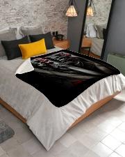 """skull Sherpa Fleece Blanket - 50"""" x 60"""" aos-sherpa-fleece-blanket-lifestyle-front-02"""