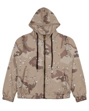 camouflage t shirt Women's All Over Print Full Zip Hoodie thumbnail