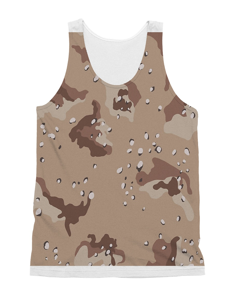 camouflage t shirt All-over Unisex Tank