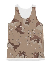 camouflage t shirt All-over Unisex Tank front