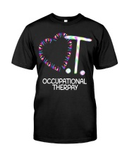 Heart OT Occupational Therapy Therapist Funny T Sh Classic T-Shirt front