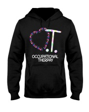 Heart OT Occupational Therapy Therapist Funny T Sh Hooded Sweatshirt thumbnail