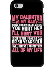 MY DAUGHTER IS MY BABY mug - tees Phone Case thumbnail