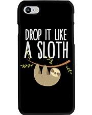 DROP IT LIKE A SLOTH mug - funny coffee Mug Phone Case thumbnail