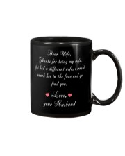 Dear Wife Thanks for Being My Wife Mug thumbnail