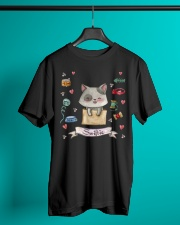 Taylor White Cat Swift Cat For Swift Real Fans Classic T-Shirt lifestyle-mens-crewneck-front-3