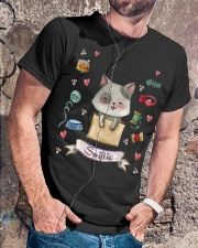 Taylor White Cat Swift Cat For Swift Real Fans Classic T-Shirt lifestyle-mens-crewneck-front-4
