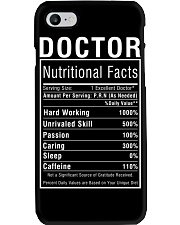 Doctor Gifts for Women Doctor Nutritional Facts Phone Case thumbnail