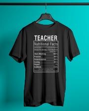 Teacher Gifts Teacher Nutritional Facts Label  Classic T-Shirt lifestyle-mens-crewneck-front-3