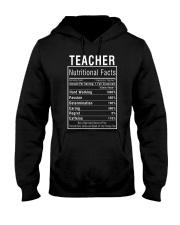 Teacher Gifts Teacher Nutritional Facts Label  Hooded Sweatshirt thumbnail