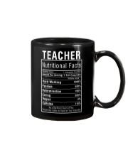 Teacher Gifts Teacher Nutritional Facts Label  Mug thumbnail