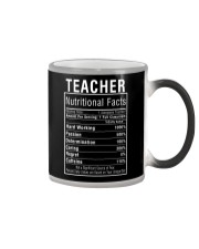 Teacher Gifts Teacher Nutritional Facts Label  Color Changing Mug thumbnail