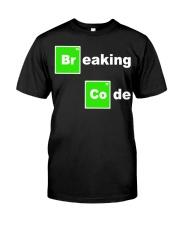 Breaking Code Programming Testing QA Funny T-Shirt Classic T-Shirt thumbnail