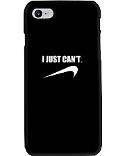 Funny I Just Cant Lazy Procrastinate Parody Phone Case thumbnail
