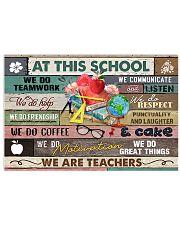 Felice Teacher Poster 24x16 Poster front