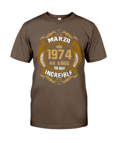 Marzo 1974 - Siendo Increible