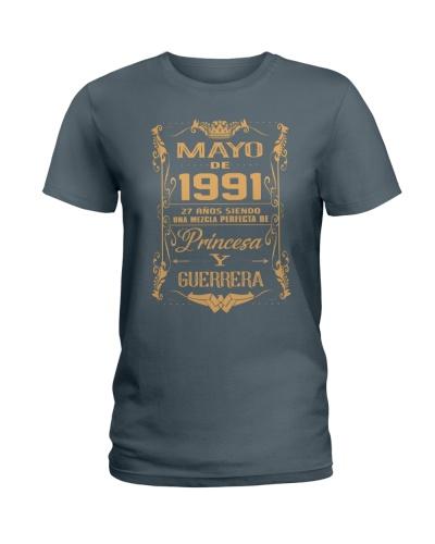 Mayo 1991 Princesa