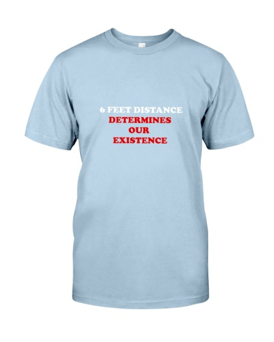 6 feet distance t-shirt social distancing shirt