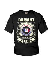 Dumont-IA homeland Shirt Youth T-Shirt thumbnail