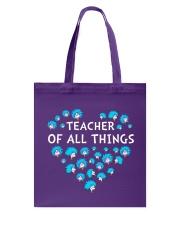 Teacher of all things Tote Bag thumbnail