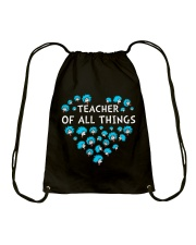Teacher of all things Drawstring Bag thumbnail