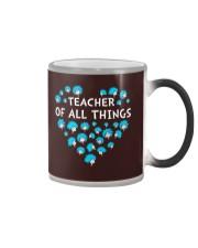 Teacher of all things Color Changing Mug thumbnail
