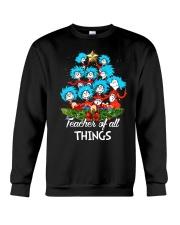 Teacher of all things Crewneck Sweatshirt thumbnail
