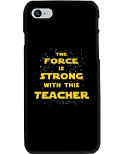 The force is strong with this teacher Phone Case thumbnail
