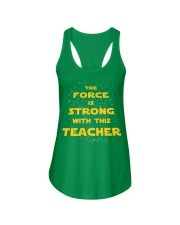 The force is strong with this teacher Ladies Flowy Tank thumbnail