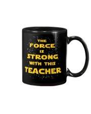 The force is strong with this teacher Mug thumbnail