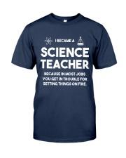 Science teacher Classic T-Shirt tile