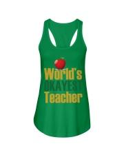 World's Okayest Teacher Ladies Flowy Tank thumbnail