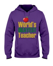 World's Okayest Teacher Hooded Sweatshirt thumbnail