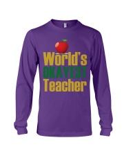 World's Okayest Teacher Long Sleeve Tee thumbnail