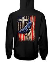 Cross Christ American Flag Hooded Sweatshirt thumbnail