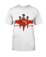 Jesus Saved My Life Classic T-Shirt tile