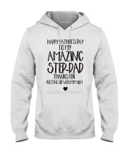 Happy Father's Day To My Amazing Step-Dad Hooded Sweatshirt thumbnail
