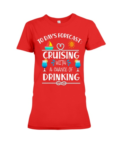 to day's forecast cruising with a chance of drink3