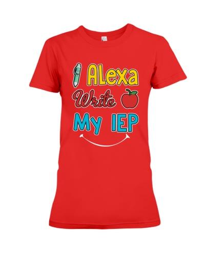 Alexa write my IEP-SHIRT