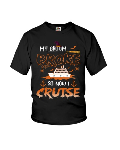 my broom broke so now i cruise