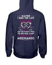 08mechanic Hooded Sweatshirt back