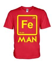 Fe Man V-Neck T-Shirt front